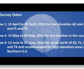 2016 Survey Dates are Here!