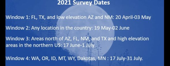 2021 Survey Dates